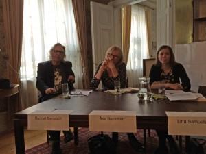 Gunnar Bergdahl, Åsa Beckman och Lina Samuelsson
